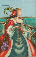 "SALE! COMPLETE X STITCH KIT ""THE RED LADY PIRATE""  MD 113 by Mirabilia"