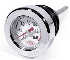 Para Harley softail Springer petróleo varilla de medición celsius temperatura peilstab termómetro