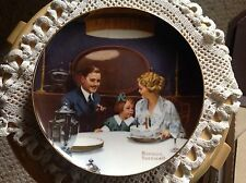 "Knowles Plate, Norman Rockwell, ""Birthday Wish"" No papers."