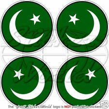 PAKISTAN Pakistanische Stoßstange Helm 50mm Vinyl Sticker Aufkleber x4