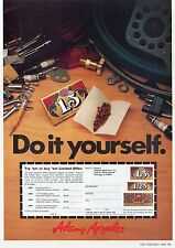 1982 Print Ad of JOB Cigarette Rolling Papers Do It Yourself