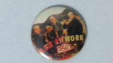 Men at work down under buttons vintage SMALL BUTTON