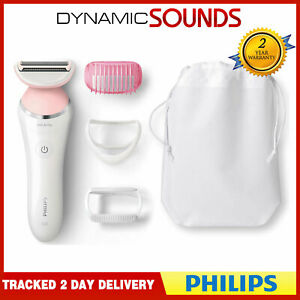 Philips BRL140 SatinShave Advanced Wet/Dry Cordless Lady Shaver - White/Pink