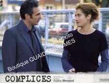 Photo Cinéma 21x27.5cm (2009) COMPLICES Gilbert Melki, Emmanuelle Devos NEUVE