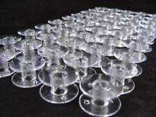 50 x Plastic Bobbin Spools - SA156, Class 15, A size Bobbins