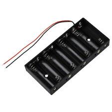 H3 Neu Plastik 8 x 1.5V AA 2A-Zellen-Batterie Halter-Aufbewahrungsbehaelter-Stan