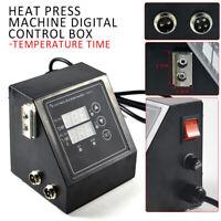 Digital Dual Display Heat Press Control Box For Heat Press Machine 110v US Plug