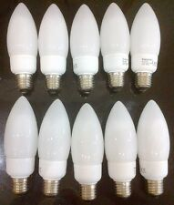 10 X 12W Low Energy Bulbs CFL GLS ES E27 standard27mm Screw Saving Lamp