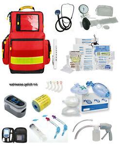 Notfallrucksack LARGE Polyester ROT gefüllt EASY Söhngen Feuerwehr Erste Hilfe