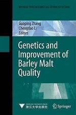 Genetics and Improvement of Barley Malt Quality  Springer-Verlag Berlin as new
