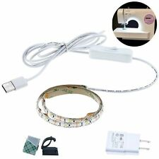 "Bonlux Sewing Machine LED Strip Light Kit 24.5"" 5V Flexible USB Sewing Light"