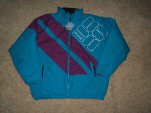Columbia Men's Sideline Parka Winter Jacket BLUE and Purple Coat sz L NWT