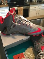 Lebron XI Elite Wolf Grey Laser Sz 11 W/ Box Authentic
