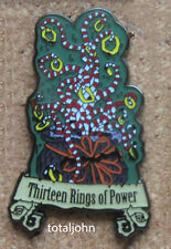 Haunted Mansion Nightmare Before Christmas Tarot Card 13 Rings of Power Pin
