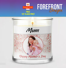 Personalised Candle label/sticker, Perfect MOTHER'S DAY gift,present/GRANDMA/MUM