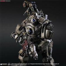 Play Arts Titanfall Atlas Pilot Battle Mech 26cm Action Figure Toy NEW WITH BOX