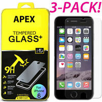3PCS Film Real Premium Tempered Glass Screen Protector for iPhone 8 Plus 5.5""