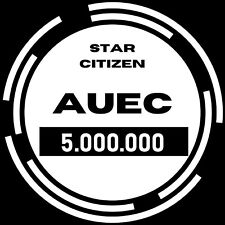 Star Citizen aUEC 5,000,000 Alpha UEC