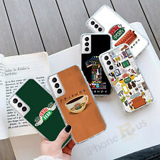 For Samsung Models S21 S20 FE A21s Central Perk GEL Phone Case Cover 092