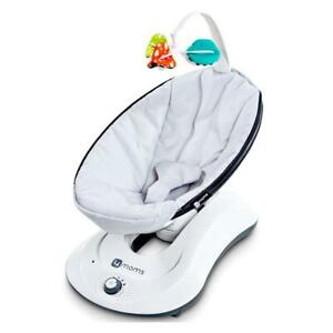 4moms rockaRoo (Classic Grey) with gentle rocking motion