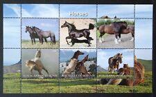 Pferde / Horses Animals Tiere Burundi 2011 MNH Kleinbogen Sheet postfrisch
