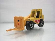 Diecast Matchbox Fork Lift Truck 1977 Yellow Good Condition