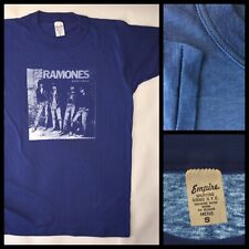 VTG Orig 70s RAMONES Rocket To Russia NYC PUNK thin 50/50 single stitch t-shirt