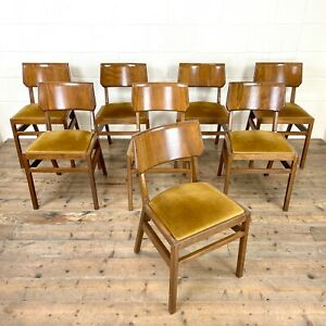 Set of Eight Mid Century Dining Chairs – Ben of Frome (M-2963) - FREE DELIVERY*