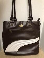 Puma Brown Large Tote Bag or shoulder bag