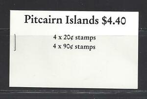 PITCAIRN ISLANDS - 301b & 306b COMP BKLET - MNH -1990 - VISITING SHIPS