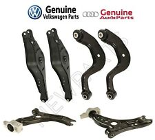 For Audi A3 Quattro VW Eos Golf Front & Rear Suspension Control Arms Kit Genuine