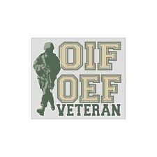 OIF/OEF Veteran Car Decal