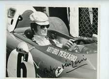 Arturo Merzario Ferrari 312 B2 di British Grand Prix 1972 firmato fotografia 3