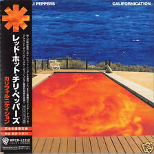 "RARE ! CD RED HOT CHILI PEPPERS ""CALIFORNICATION"" JAPON , 16 TITRES, COMME NEUF!"