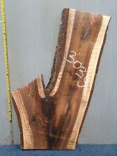 Waney Edge Live Edge Walnut Slab Board Kiln Dried Hardwood 1060 x 300-590 x 45mm