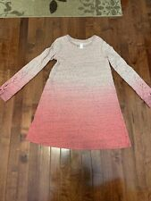 Justice girls ombre dress 12 Pink