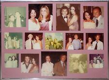 14 Original Vintage Celebrity Polaroid Photos-NYC 1970s-Hefner, Steinem, Warhol