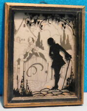 Silhouette Picture - Straight Glass - 1940-1950