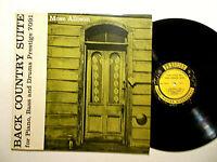 MOSE ALLISON -Back Country Suite Prestige 7091 (1957) debut LP, RVG DG VG+