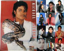 Michael Jackson Calendrier 1991 Calendar Kalender Poster Posters