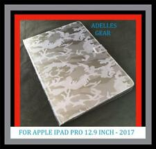 ARMY GREY IPAD PRO 12.9 INCH 2017 - CASE COVER - ARMY GREY CAMOUFLAGE  DESIGN