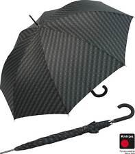 Knirps Regenschirm Edition Nimbus Long -  Stockschirm stabil Automatik schwarz