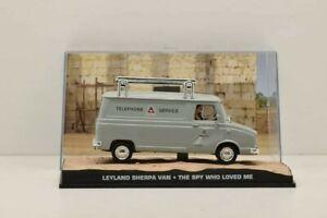 FOURGON LEYLAND SHERPA JAMES BOND 007. 1/43.EAGLES MOSS. Modele avec plexi casse