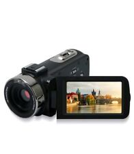 Camcorder Digital Camera Video Recorder touch screen FHD 1080p 24MP with remote