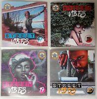 Street Vibes Volume 17-20 JUMBO Pack Dancehall, Bashment, Urban Reggae 4CD 2019