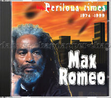 """Max Romeo - """"Perilous Times"""" 1974 - 1999 SEALED 2002 CD on French Charmax"""