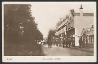 Hampshire. Bordon. High Street, Bordon. Kingsway Real Photo Postcard