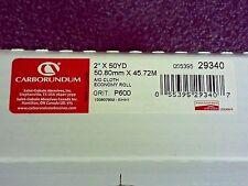 "Abrasive Roll 2"" W x 150 ft. L P600 Grit Brown 29340 (DR)"