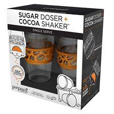 Prepara Sugar Doser Single Serve Dispenser & Cocoa Shaker - Fits K-Cup Carousel
