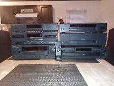 Kenwood Amplifier CD Equalizer Cassette Deck Entertainment Center Awesome Lot